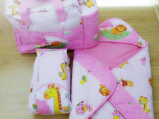 harga Set perlengkapan bayi tas selimut topi dan gendongan samping Tokopedia.com