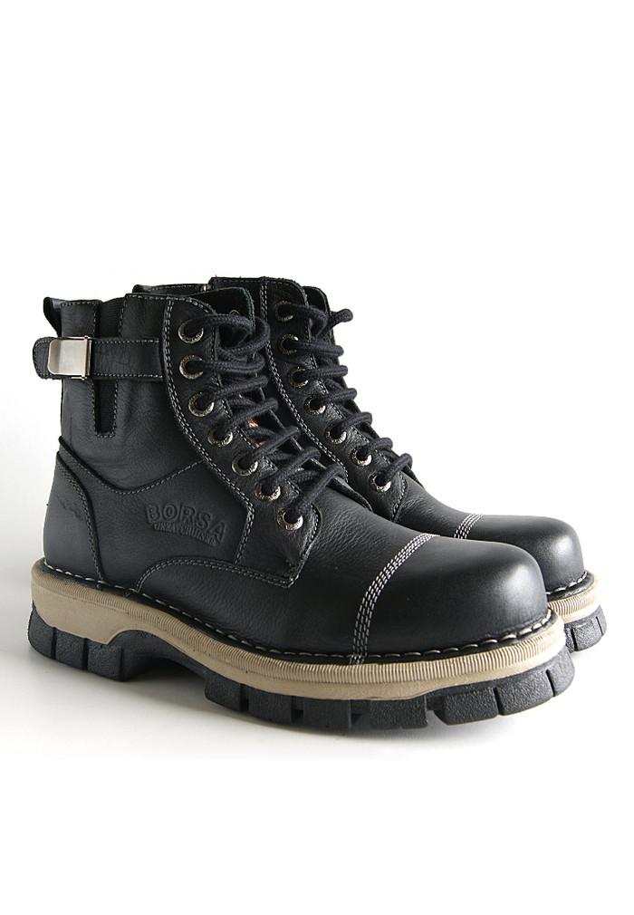 harga Sepatu boots kulit / borsa - aviator Tokopedia.com