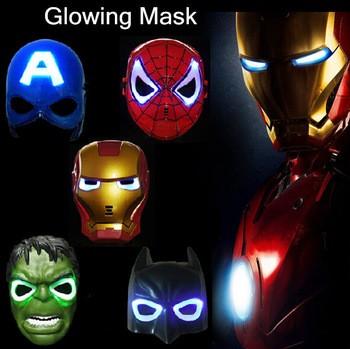 harga Topeng lampu hulk mask lamp led avengers superhero ironman spiderman Tokopedia.com