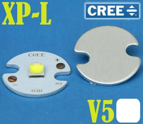 harga Cree xp-l v5 white emitter usa 16mm aluminium base Tokopedia.com