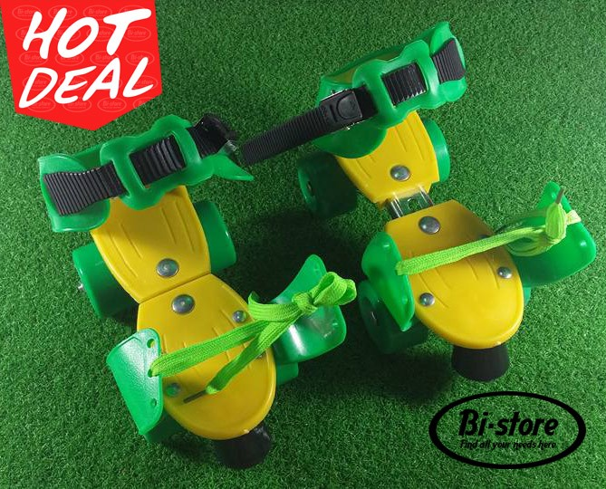 harga Sepatu roda dry skate 4 roda untuk anak uk. 31 - 36 Tokopedia.com