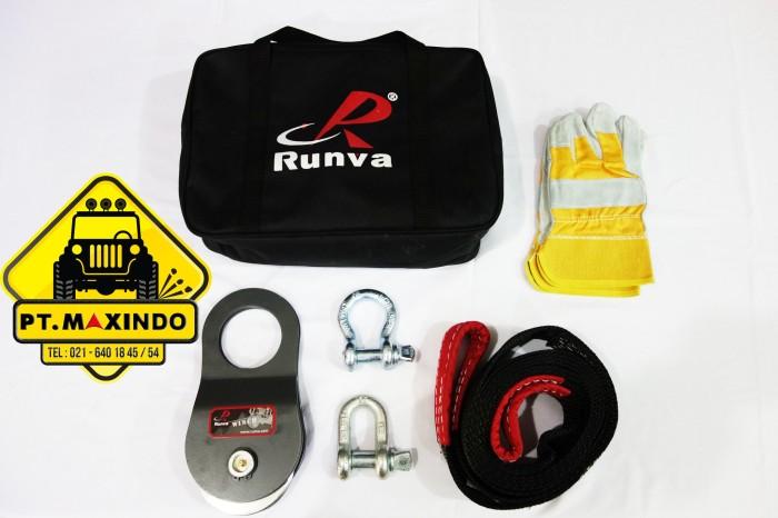 harga Runva offroad recovery kit / aksesoris kit untuk winch Tokopedia.com