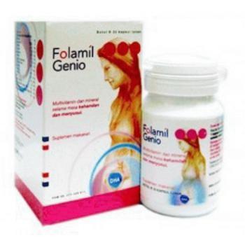 harga Folamil genio isi 30 vitamin untuk ibu hamil dan menyusui Tokopedia.com