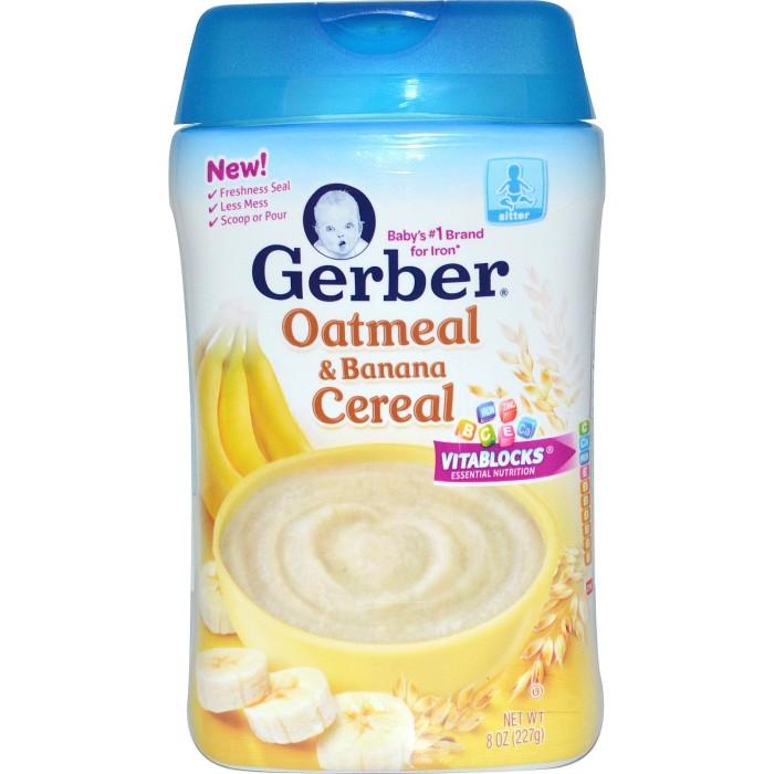 harga Gerber Oatmeal & Banana Cereal | Sereal / Bubur Bayi Instant Tokopedia.com