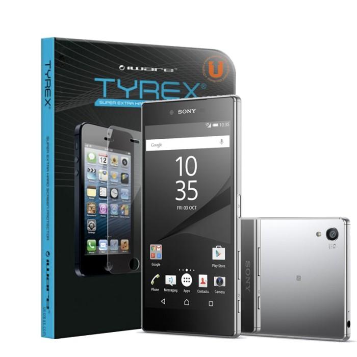 harga Tyrex + garansi sony xperia z5 premium tempered glass screen protector Tokopedia.com