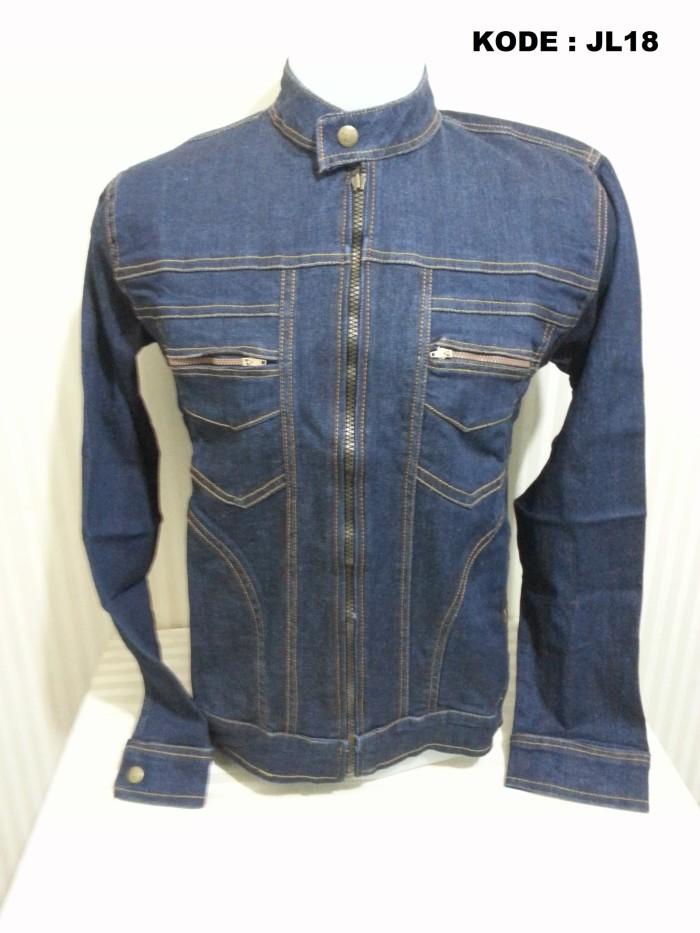 Jaket Jeans Denim Pria Exlusive - Daftar Harga Terlengkap Indonesia 320bf52bc2