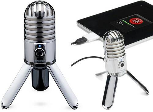harga Samson meteor mic - high quality usb podcasting studio microphone Tokopedia.com