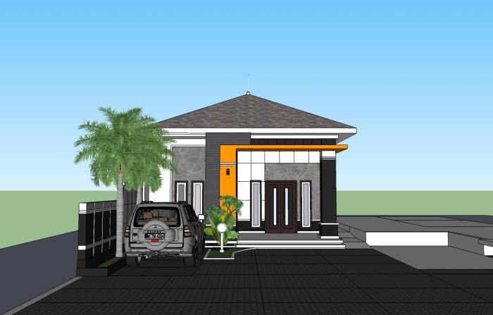 Jual Gambar Rumah Ukuran 8x12 Istialia Rumah Online Tokopedia