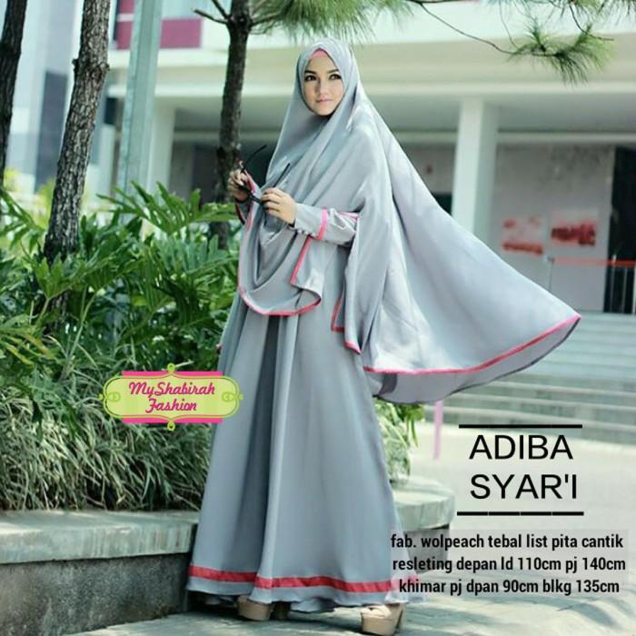 Jual AMRA Gamis Adiba Syari (Dress ea7aa3346f