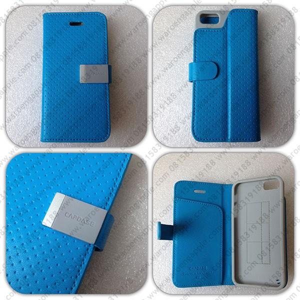 harga Capdase folder sider polka iphone 5 5s blue Tokopedia.com