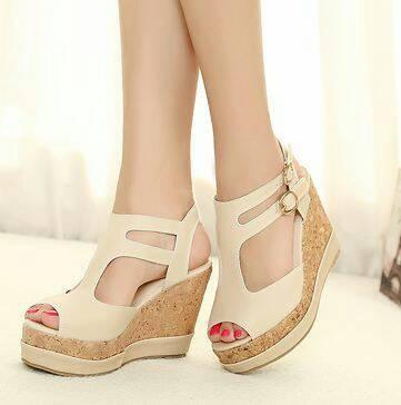 harga Sandal wanita wedges ( sepatu / sendal cewek ) Tokopedia.com