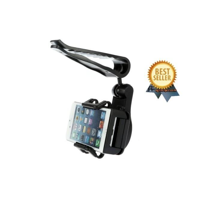 harga Universal sun visor car mount holder for smartphone4.5 - 5.5 inch Tokopedia.com