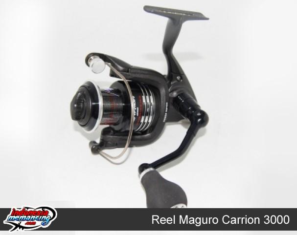 harga Reel mancing spinning maguro carrion size 3000 Tokopedia.com