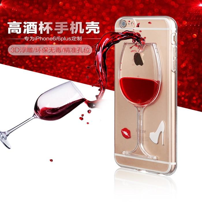 harga Casing belakang iphone 6 baru 47  - red wine glass beer Tokopedia.com