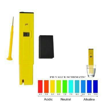 Alat Ukur Keasaman Air - Digital Tester pH Meter ATC .