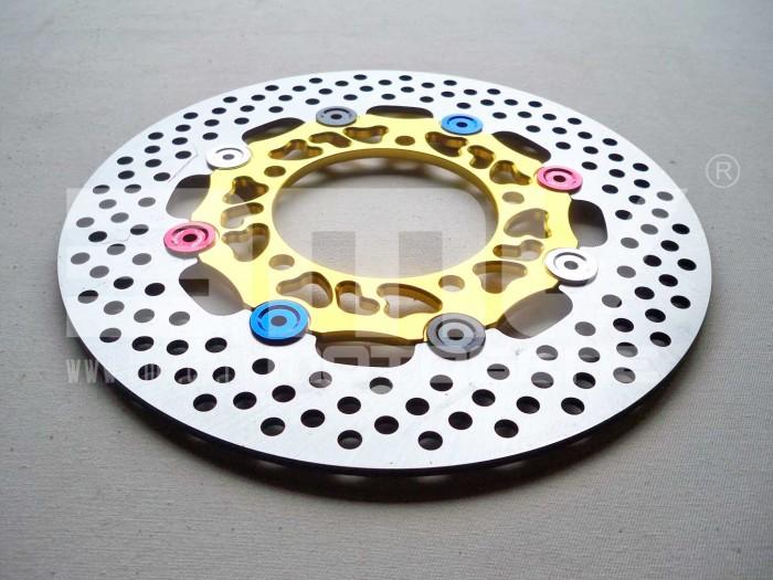 harga Piringan cakram disc brake gold cnc old / new vixion / mx king 260 mm Tokopedia.com