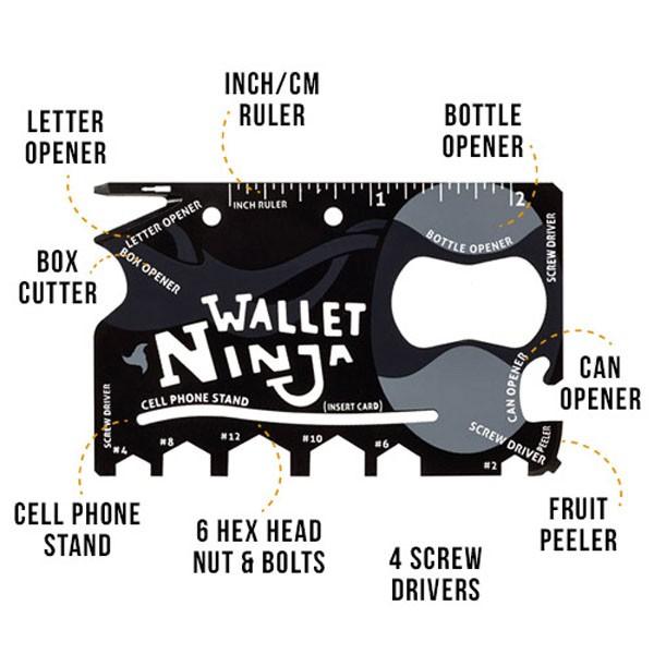 harga Ninja wallet 18 in 1 Tokopedia.com