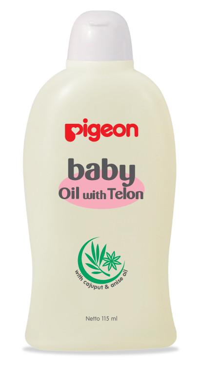 harga Pigeon baby oil with telon 100ml Tokopedia.com