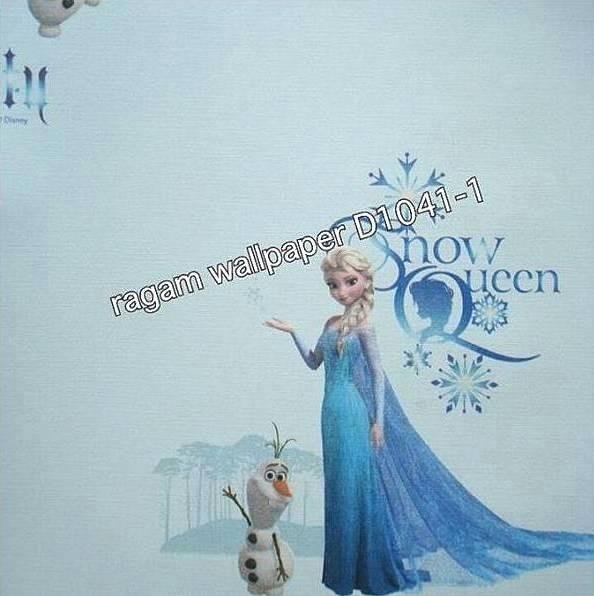 Jual Wallpaper Dinding Kamar Anak Princess Elsa Frozen Dream World D1041 1 Jakarta Pusat Putriberlian Tokopedia