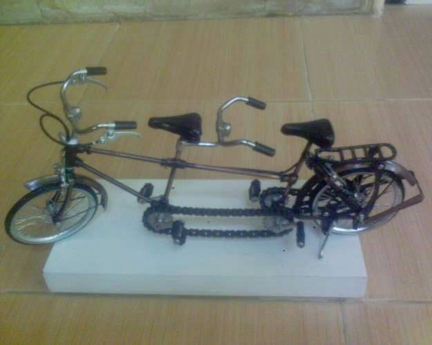 harga Miniatur sepeda tandem Tokopedia.com