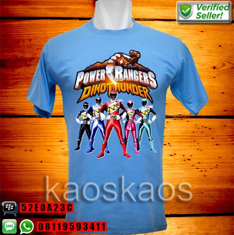 harga Kaos power rangers dino thunder all team Tokopedia.com