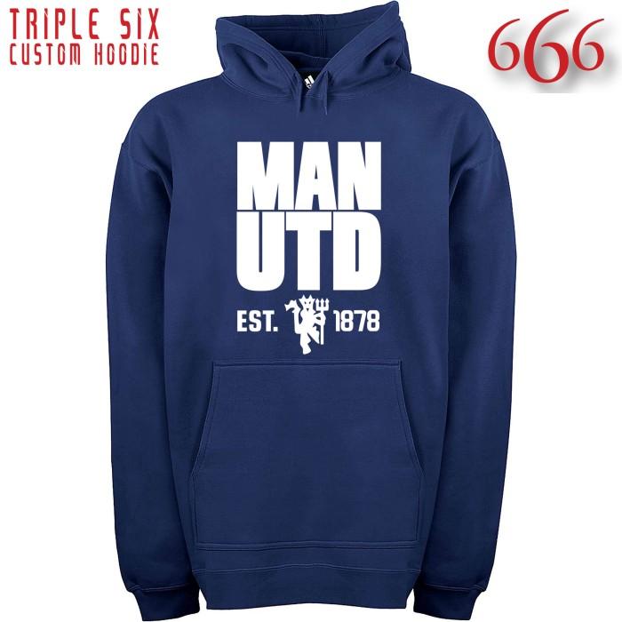 Foto Produk Jaket Hoodie Bola - Manchester United / MU 7 dari Triple Six