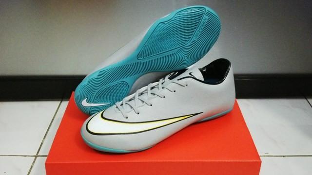 Jual Nike Mercurial Vapor X Silver CR7  Sepatu Futsal   G.O Replika ... f559025f74