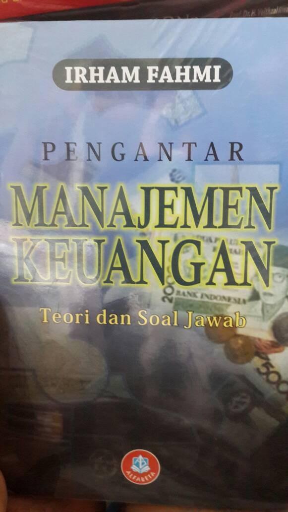 harga Pengantar manajemen keuangan irham fahmi Tokopedia.com