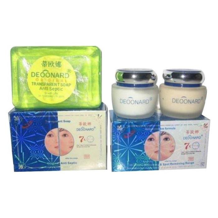 Jual Deoonard Blue 7 Days - Paket perawatan wajah jerawat - Master-Cendol Store | Tokopedia