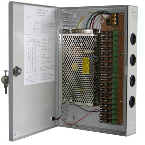 harga Adaftor cctv 12v 20a + power suply distributor panel box Tokopedia.com