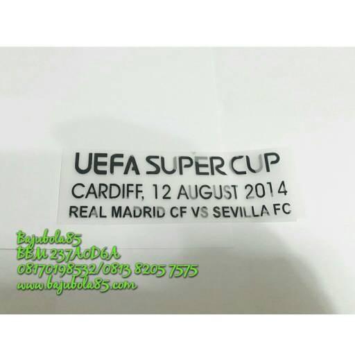 harga Mdt eufa super cup 2014 real madrid vs sevilla Tokopedia.com