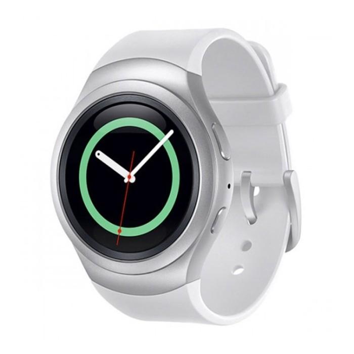 harga Samsung galaxy gear s2 rubber diamond silver smartwatch [bluetooth] Tokopedia.com