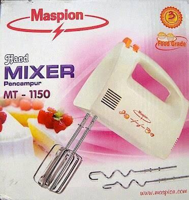 harga Hand mixer maspion mt-1150 Tokopedia.com
