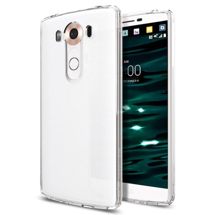 harga Spigen lg v10 case ultra hybrid crystal clear Tokopedia.com