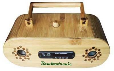 harga Radio bambu pertama di indonesia bambu multimedia bambootronic Tokopedia.com