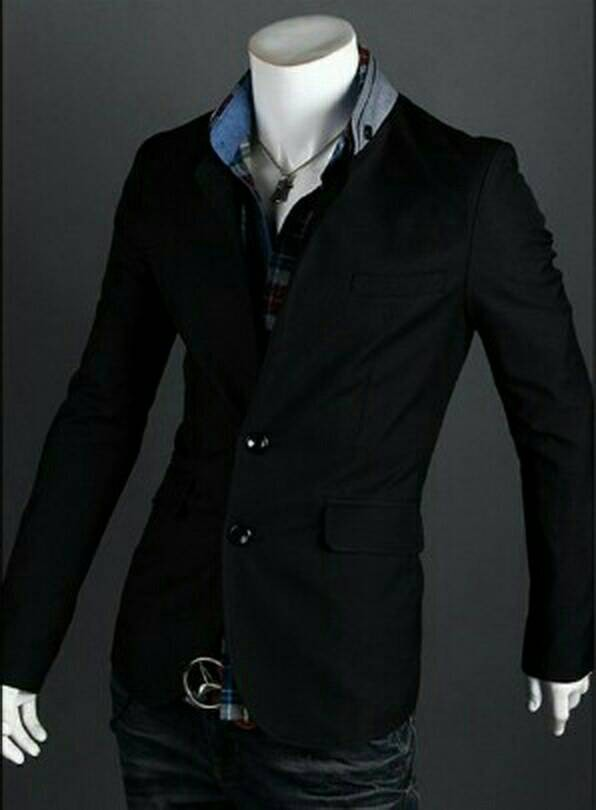 harga Blazer jacket jeket cowok nixon black japan korea style keren modis Tokopedia.com