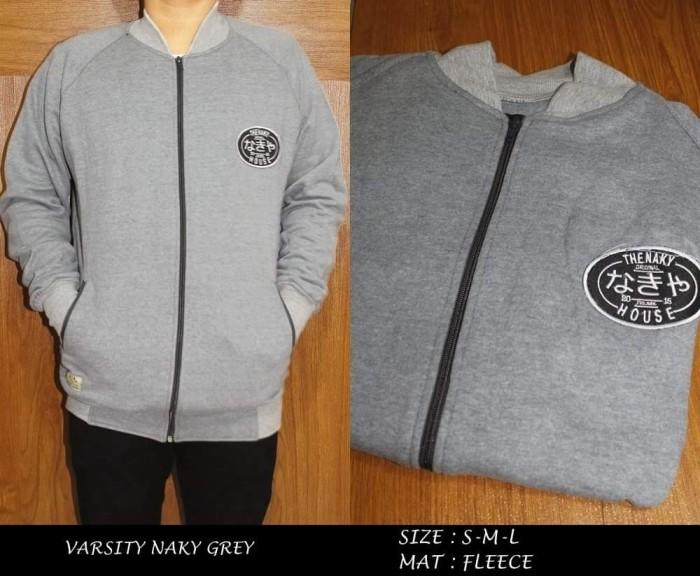 Jual Jaket sweater varsity distro original hoodie fleece surf skate ... 652cdd5048