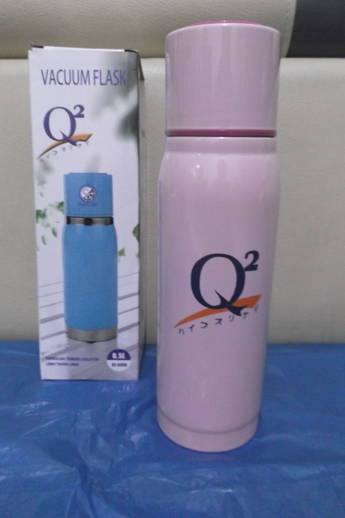 harga Botol termos / vacuum flask q2-6350 stinless steel 500ml Tokopedia.com