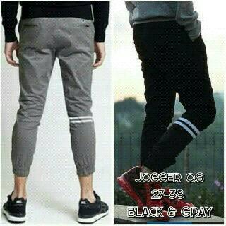 Jogger pants strip / jogerpants strip / joger pants garis
