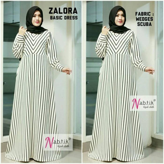 Jual Limited Stock Gamis Zalora Salur Dress By Nabtik Meldhisty