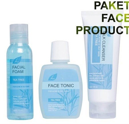 Tea tree acne treatment face product
