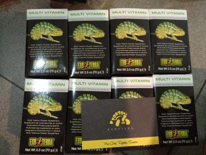 harga Exo terra multi vitamin powder 70gr pt1861 Tokopedia.com
