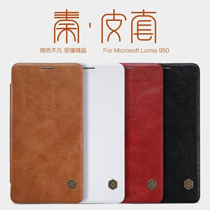 harga Flip case nillkin microsoft lumia 950 qin series Tokopedia.com