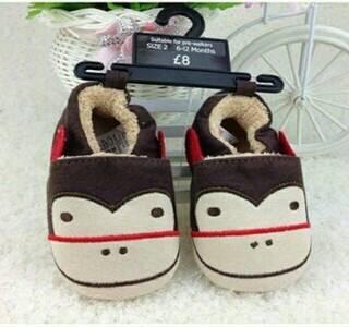 harga Sepatu prewalker bayi laki-laki import motif monkey - new model Tokopedia.com