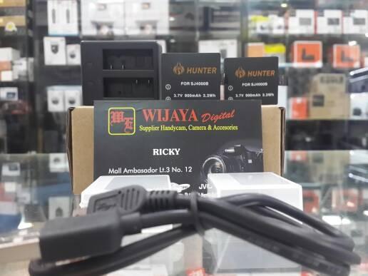 harga Batrai dan charger for sjcam dan bpro ae..merk hunter Tokopedia.com