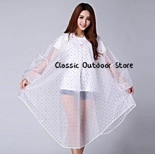 harga Jas hujan poncho white polka classic Tokopedia.com