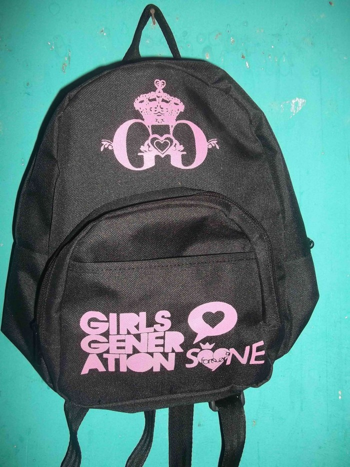 Tas/bacpack kpop mini snsd/girls generation