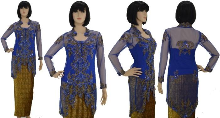harga Baju kebaya modern lengan panjang brokat tile cornelli wisuda muslimah Tokopedia.com