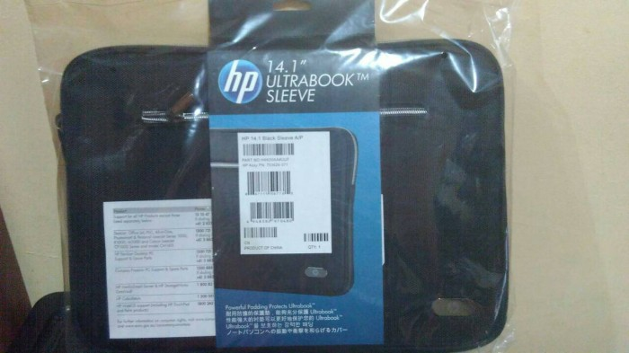 TAS LAPTOP / SOFTCASE LAPTOP ORIGINAL HP 14INCH (NEW)
