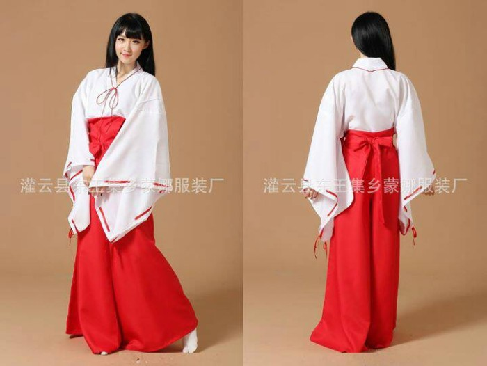 harga Kostum kikyou kikyo yukata kimono baju inuyasha costume cosplay Tokopedia.com